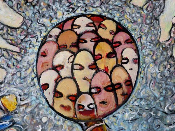 Series X No. 1 - Stephen Judges Outsider Art